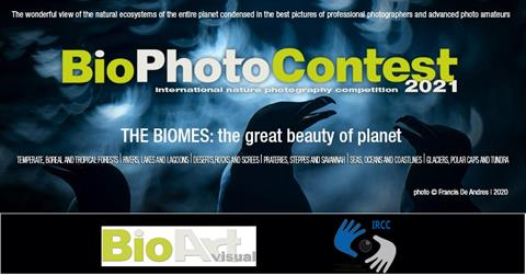 IRCC renews its collaboration with the prestigious international competition for nature photography BioPhotoContest for its 2021 edition