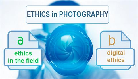 Ethics in photography, an unavoidable commitment